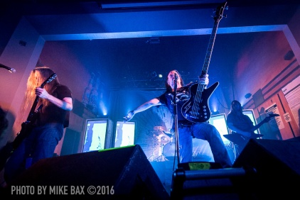 Carcass - Dallas Night Club, Kitchener November 24th, 2016 - photo by Mike Bax