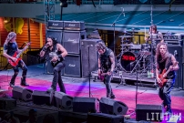 Skid Row perform on The Kiss Kruise