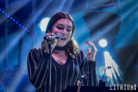 Sophie Simmons performs on The Kiss Kruise