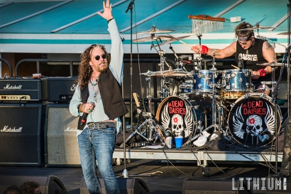 The Dead Daisies perform on The Kiss Kruise
